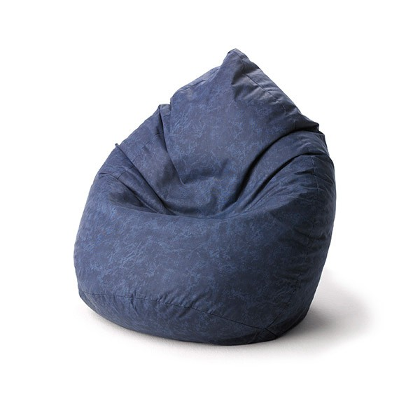 Blau marmoriert